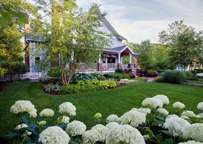 Front Landscape & plant installation